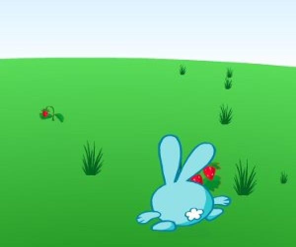 онлайн игра смешарики Собери лукошко